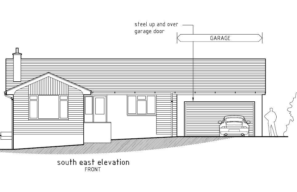 Garage extension dcf planning and design for Garage extension plans